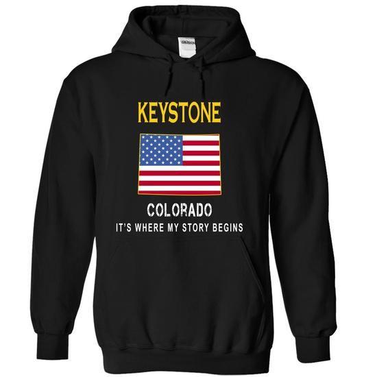 KEYSTONE - Its Where My Story Begins - #shirt cutting #cream sweater. WANT => https://www.sunfrog.com/States/KEYSTONE--Its-Where-My-Story-Begins-brkrn-Black-14917520-Hoodie.html?68278