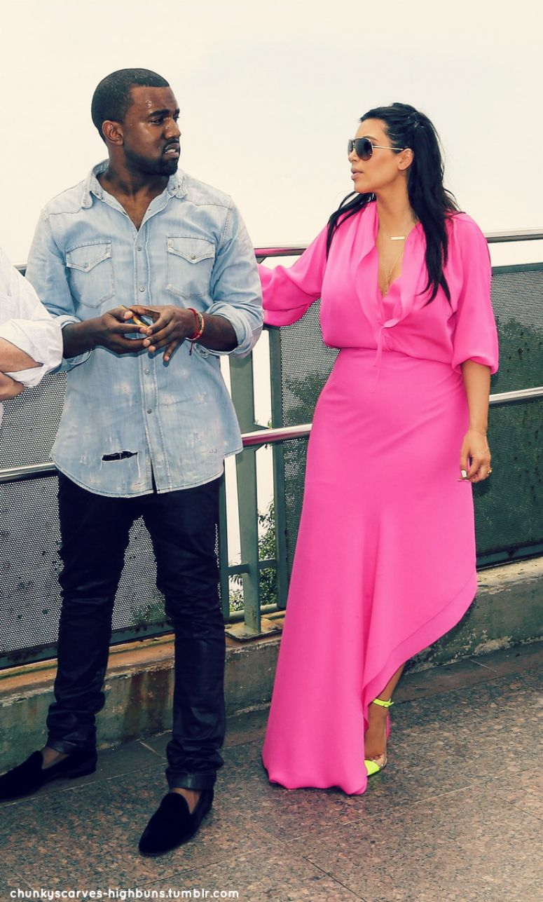 Atractivo Vestido De Novia De Kim Kardashian Kanye Ideas Ornamento ...