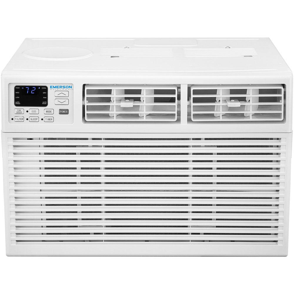 Emerson Quiet Kool Energy Star 15 000 Btu 115 Volt Window Air Conditioner With Remote Control White Window Air Conditioner Home Appliances