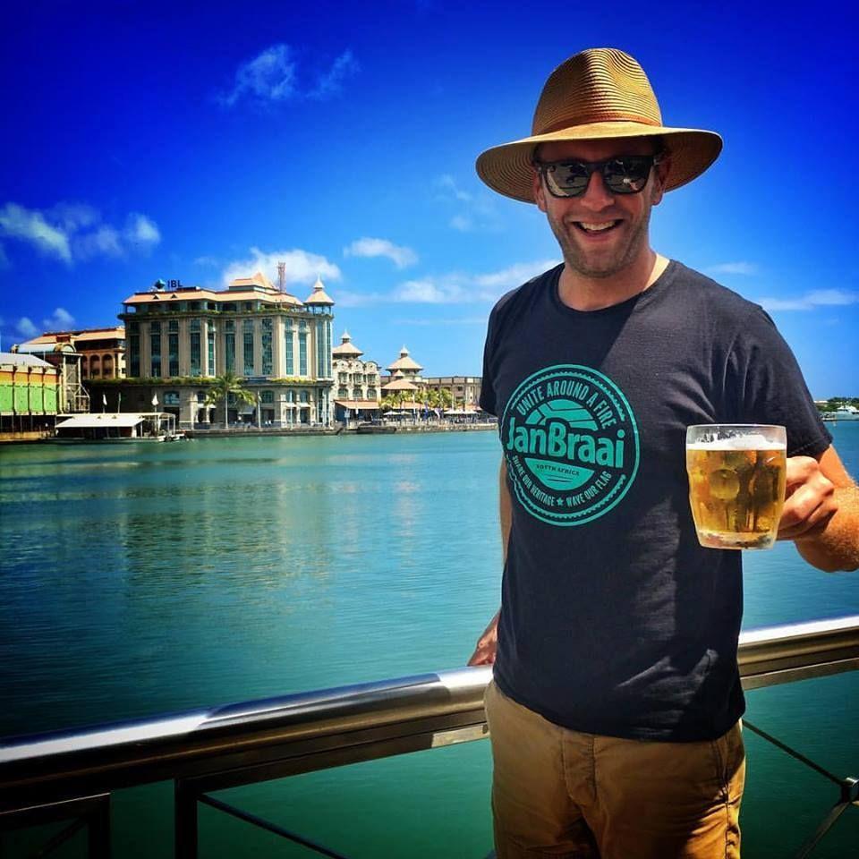 Jan Braai in his Kristy Hat! www.sunnats.co.za