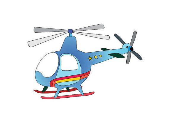 Digital Blue Helicopter Image Chopper Image Helicopter Print Chopper Poster Chopper Cutout Kids Wall A Art Wall Kids Kids Room Poster Wall Art Prints Image