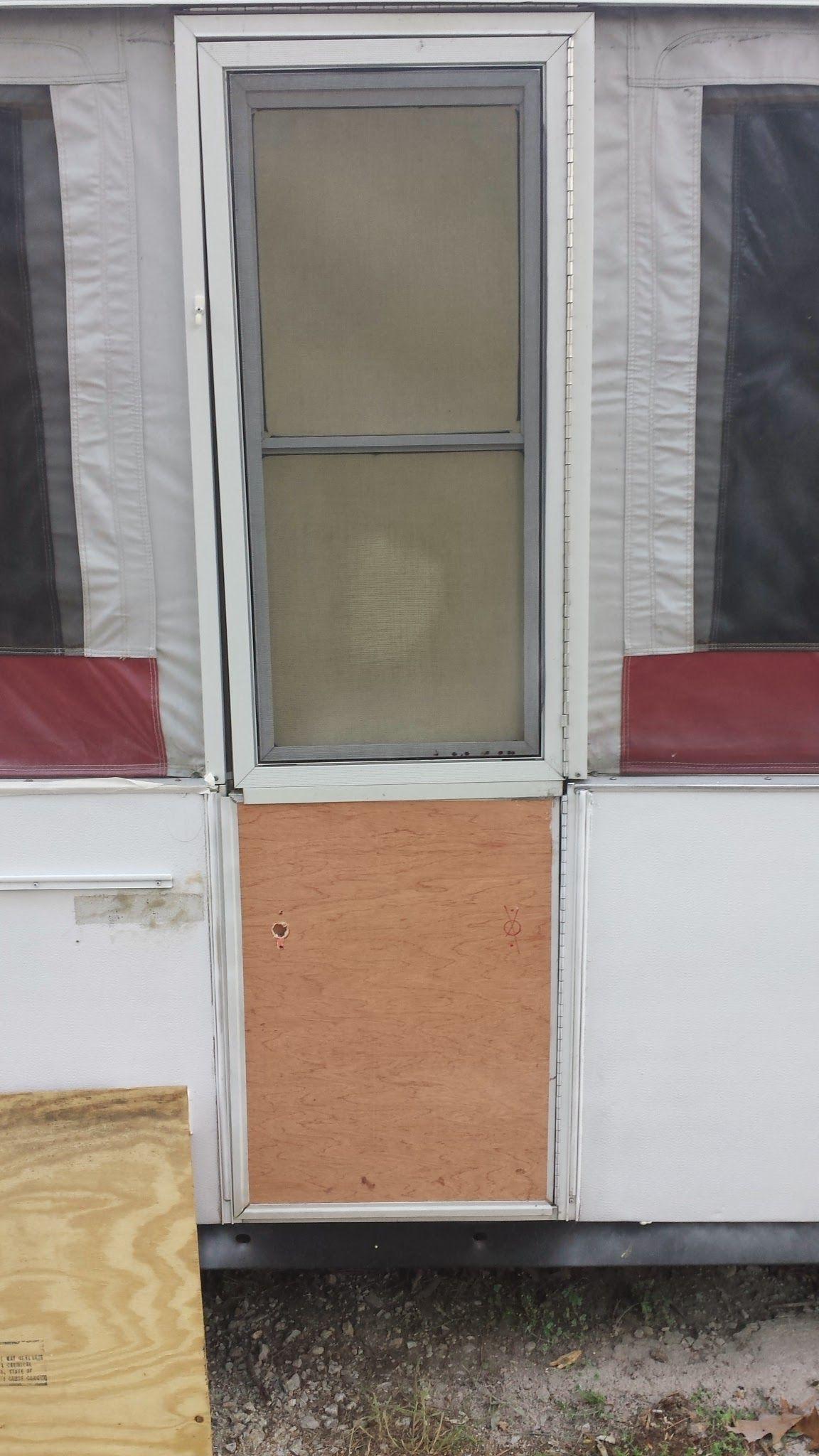 My 95 Jayco Eagle 12 Udk Had To Rebuild The Door Not Fun Pop