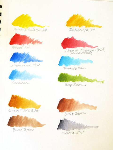More Colors For That Doodle Journal Watercolour Tutorials Color