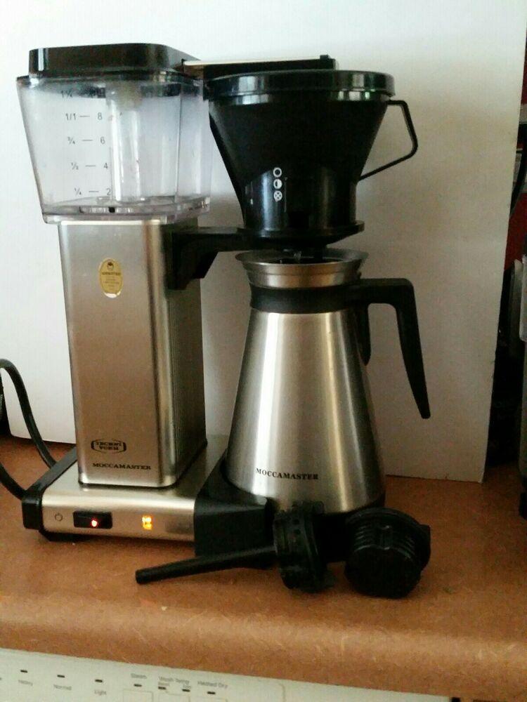 Details about Technivorm Moccamaster Coffee Maker Machine