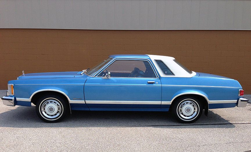 1977 Ford Granada Ghia 2 Door With Only 5 002 Original Miles