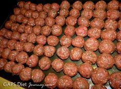 SCD Meatballs  Bulk Recipe Use fresh pressed garlic  minced onion  SCD tomato paste Minced meat product knowledge and tips Minced meat can be obtained from various types...