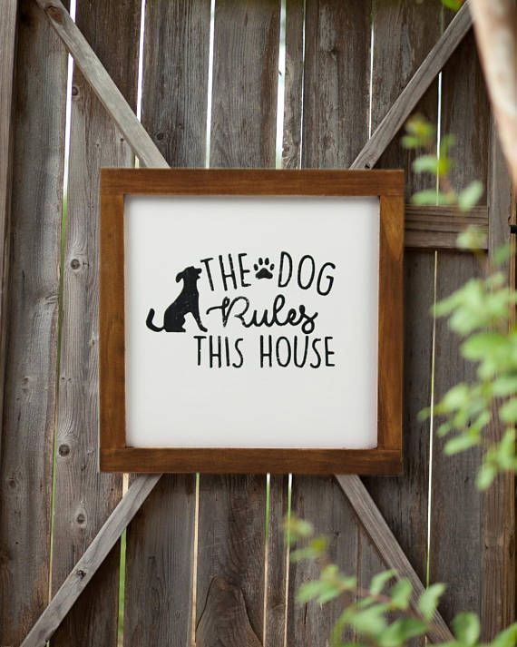 Wall Decor Signs For Home Mesmerizing Dog Sign Home Decor Rustic Decor Ideas Wall Decor Wood  Etsy Inspiration