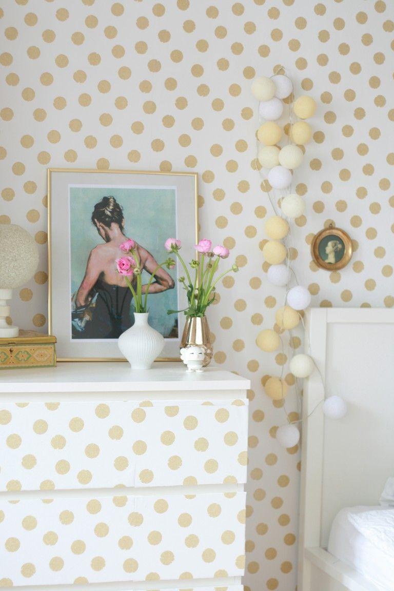 Mein neues Schlafzimmer Rauminspiration, Tapeten und