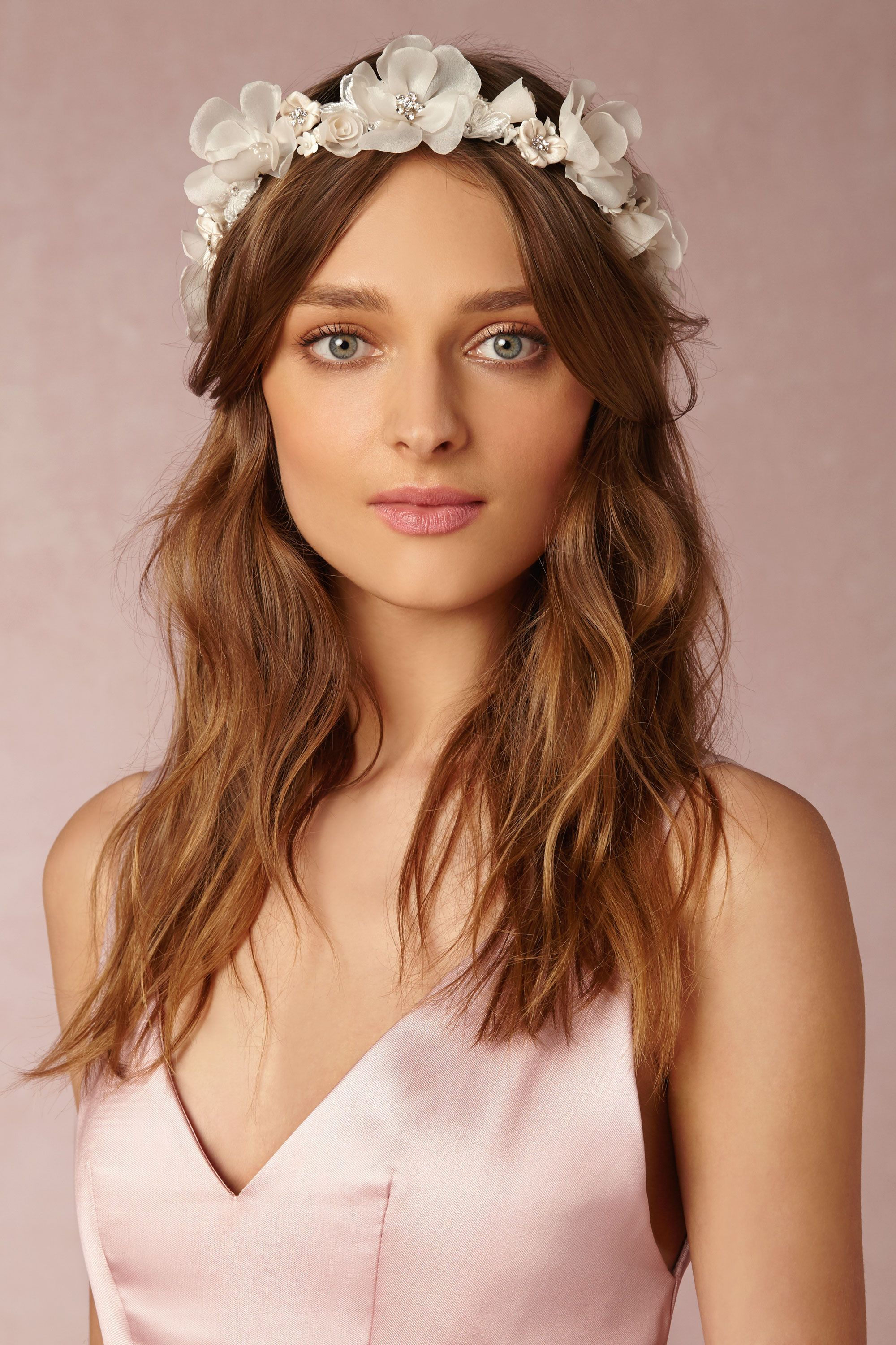 Iceberg rose crown from bhldn garden weddings pinterest rose