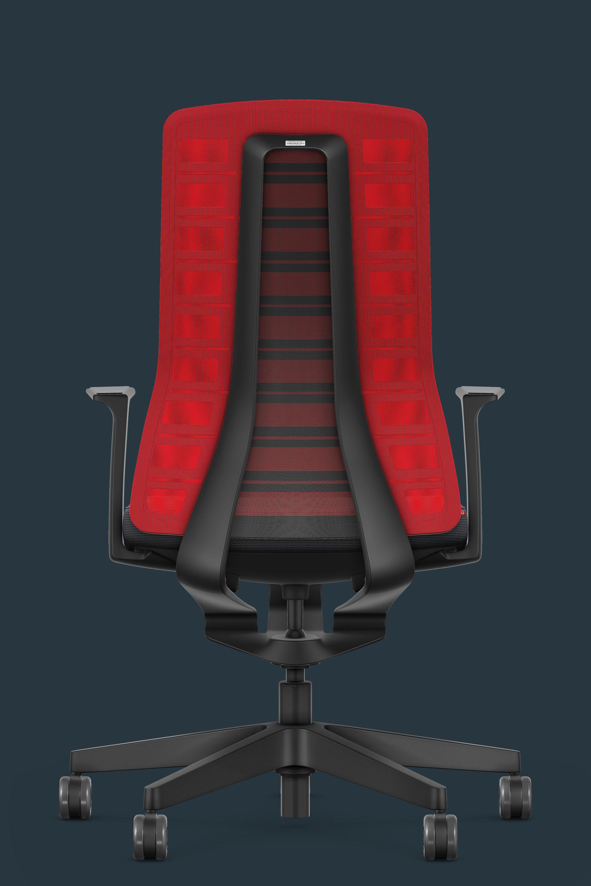 Pure Edition Active Bürodrehstuhl Interstuhl Rot