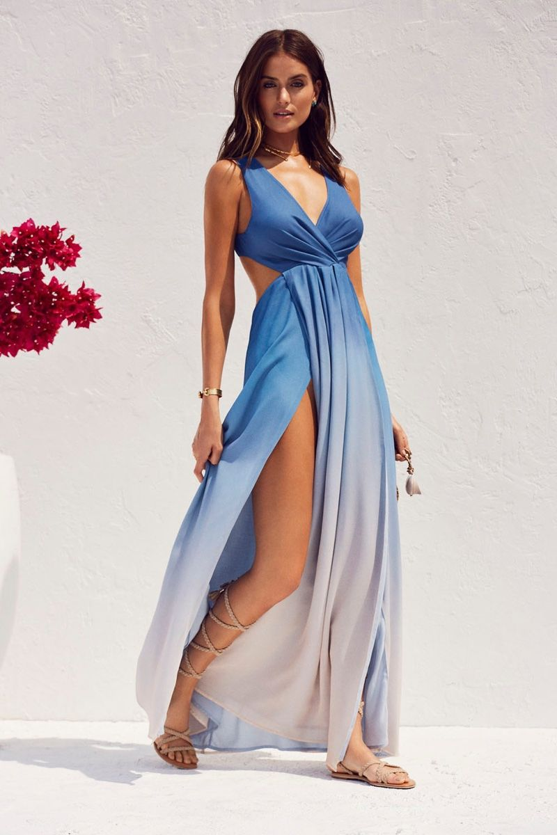 8bcaf951a035 The Jetset Diaries x REVOLVE Caribbean Ombre Maxi Dress summer vacation  outfit 2016 lookbook