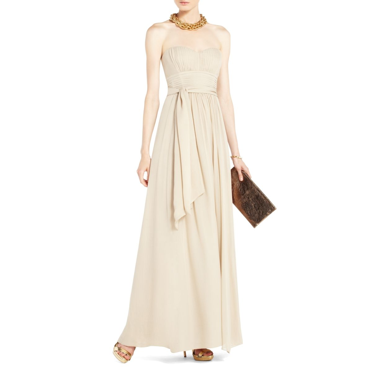 SULLY BRIDESMAID // $398 BCBGMAXAZRIA - DRESSES: EVENING: CHATEL ...