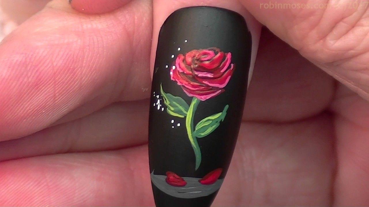 The Enchanted Rose Nails