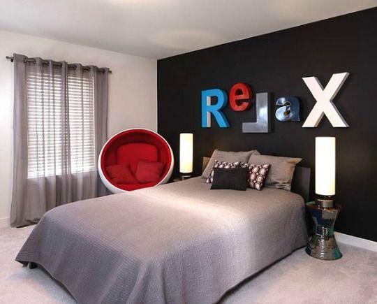 Dormitorios Joven Buscar Con Google Diseno De Dormitorio Para Hombres Dormitorio Hombre Decoracion De Recamaras Juveniles