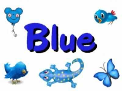 Kleur Blauw Blue Song Color Songs School Bulletin Boards Sight Words