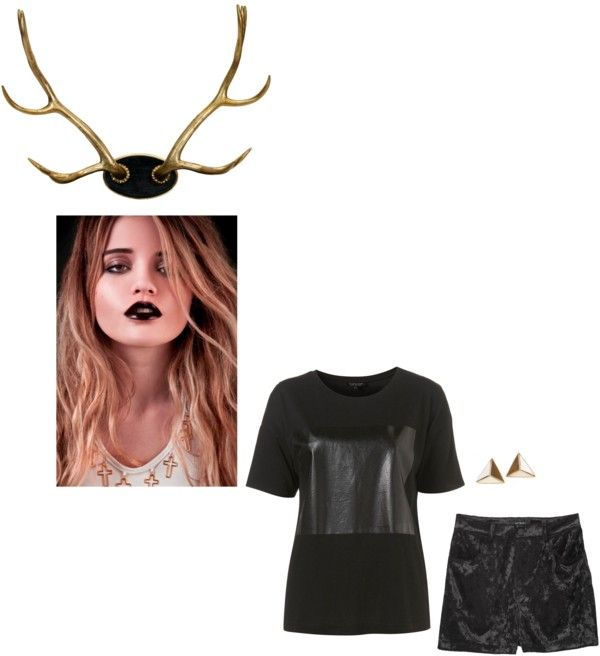 """""""sky/antler"""" by isles ❤ liked on Polyvore"""