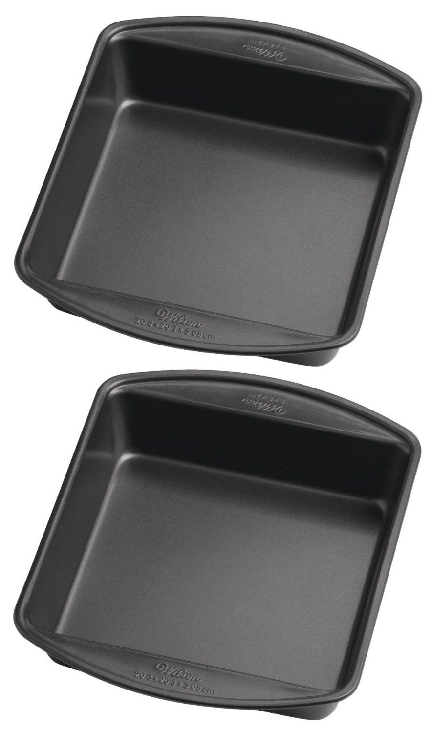 Wilton Perfect Results 8 Inch Square Cake Pan Pack Of 2 Pans Want Additional Info Click On The Image