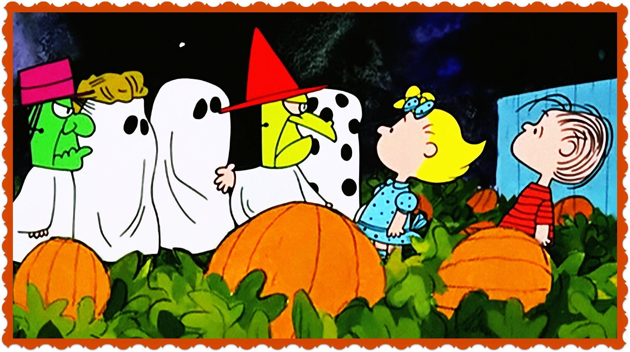 Charlie Brown Desktop Wallpapers Wallpaper Great Pumpkin Charlie Brown Charlie Brown Halloween Peanuts Halloween