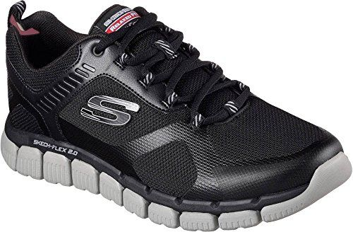 Flex Advantage 2.0, Chaussures de Running Homme, Gris (Charcoal), 40 EUSkechers