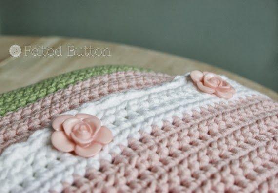 Botón de fieltro - Crochet Patterns Colorful: Poco Patrón Muchacha ...