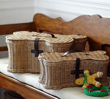 Doggie Toy Basket Toy Basket Dog Toy Basket Stuffed Animal Storage