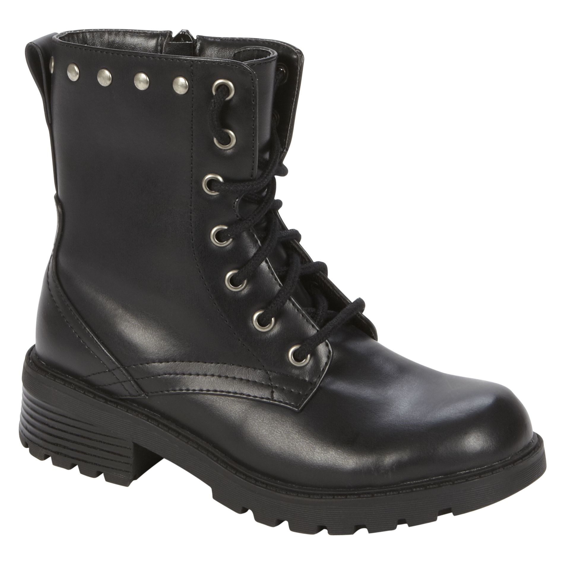 46270fdd6c0 black Doc Martens knockoffs, available at Kmart. Price: $29.99 ...
