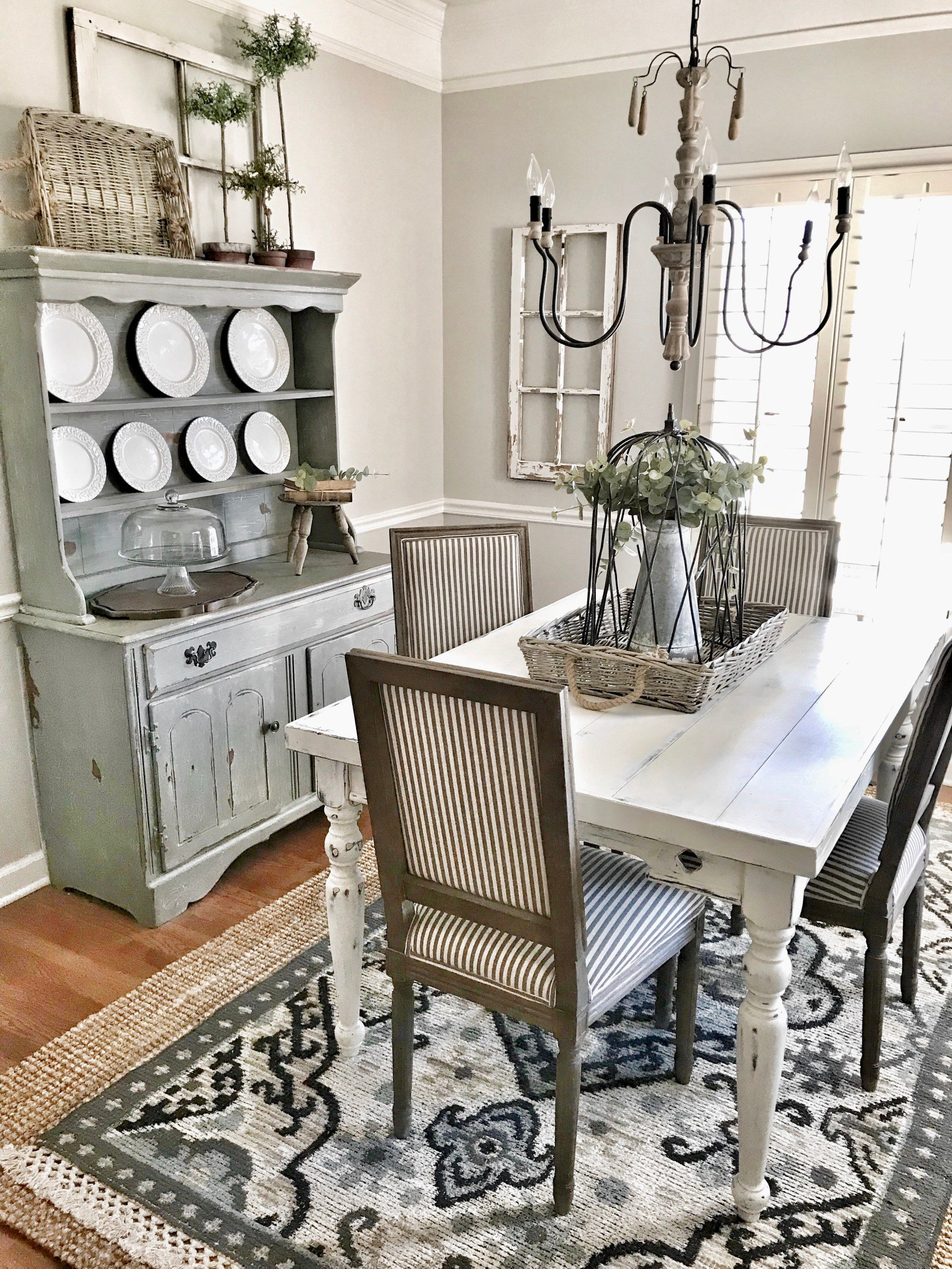 Farmhouse Style Dining Room Refresh | Bless This Nest