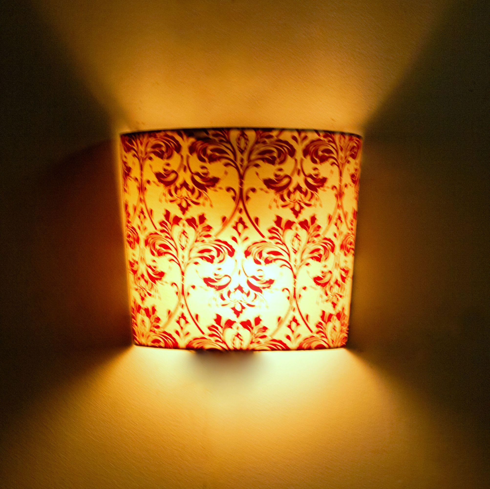 Arabica Small Fabric wall light #lights #walllight #homedecor ...