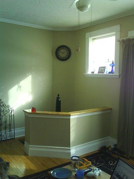 Best Half Kitchen Wall Half Walls House Spiral Staircase 400 x 300