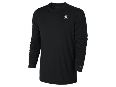 Hurley Dri-FIT Icon Long-Sleeve Men's Surf Shirt