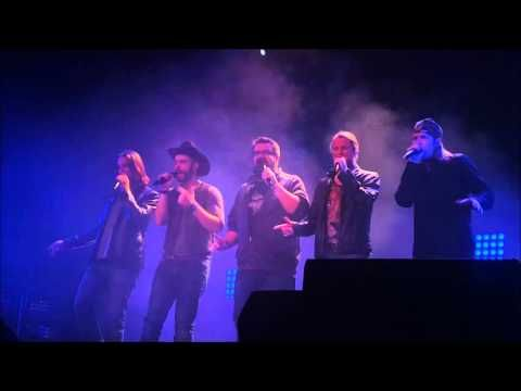 """Wagon Wheel / Song of the South"" Home Free in Fargo, ND 11-8-2015"