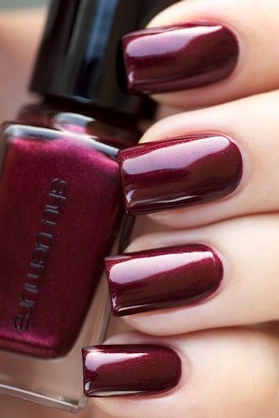 Nailing It! Shu Uemura Festive Rouge Festive Nails and some ...