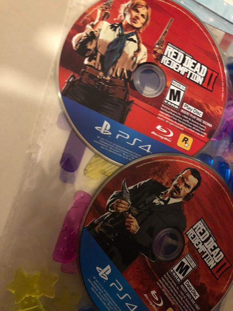 Red Dead Redemption 2 PS4 (Discs Only) #reddeadredemption
