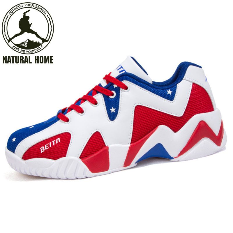 ca0af81cf NaturalHome 2017 New Top Quality Men Basketball Shoes Brand Men Sport  Sneaker Breathable Men Athletic Basketball Shoes