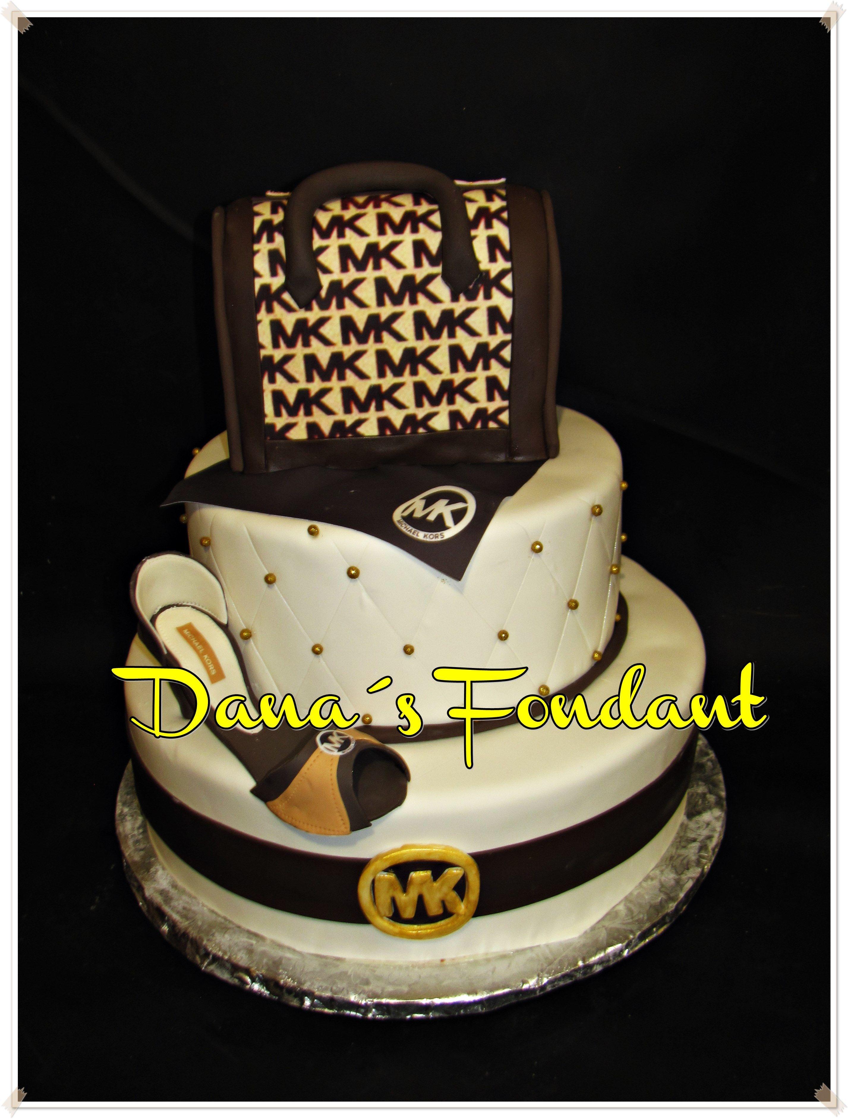 f4d55ae77 Michael Kors Cake   Desserts   Cake, Birthday cake, Fashionista cake