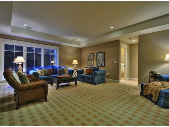 Besides the formal living room and great room, there's a bonus family room, too.