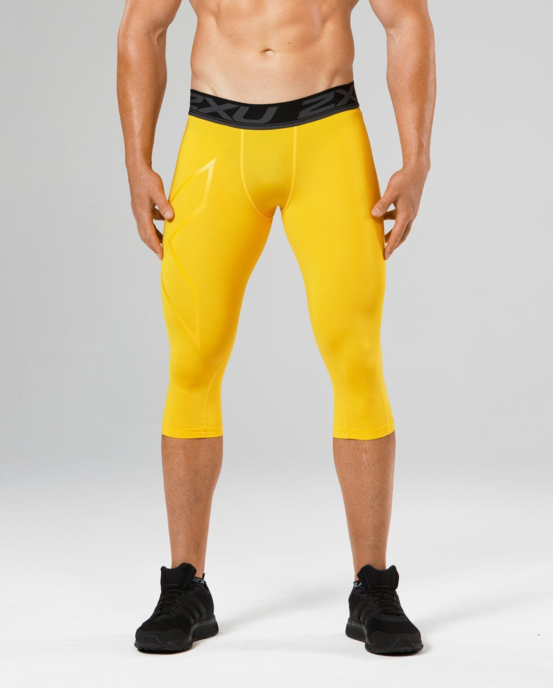 be6bd9c485 2XU Mens LKRM 3/4 Compression Tights Gold Medium >>> Want to know more,  click on the image. (This is an affiliate link) #runningequipment