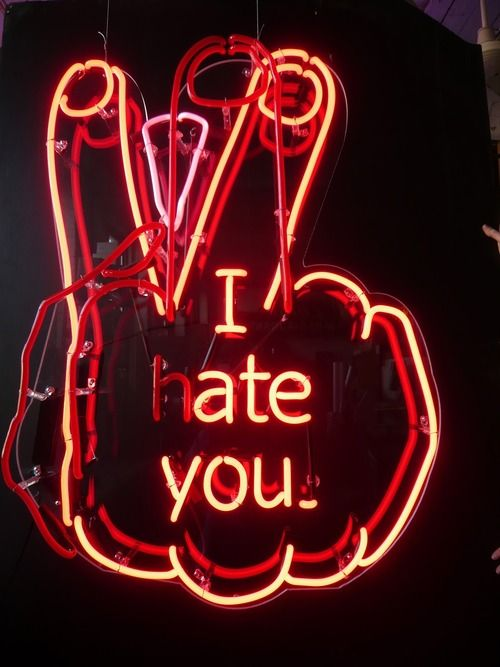 Not Really But This Is Just Neat εΘ Neon Words