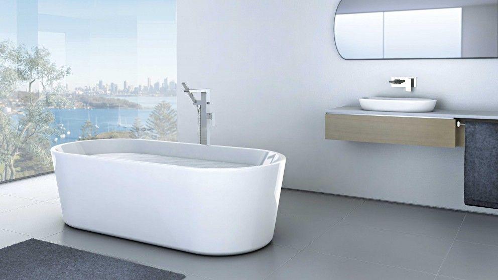 Caroma Aura 1600 Freestanding Bath - Baths & Spas - Baths & Toilets ...