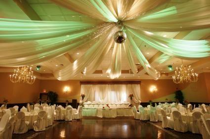 Reception Hall Decoration Ideas Planning a Wedding Reception