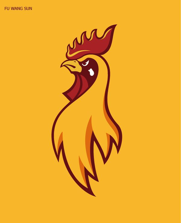 50 Creative Rooster Logo Designs For Inspiration Rooster Logo