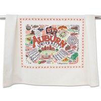 AUBURN UNIVERSITY COLLEGIATE DISH TOWEL