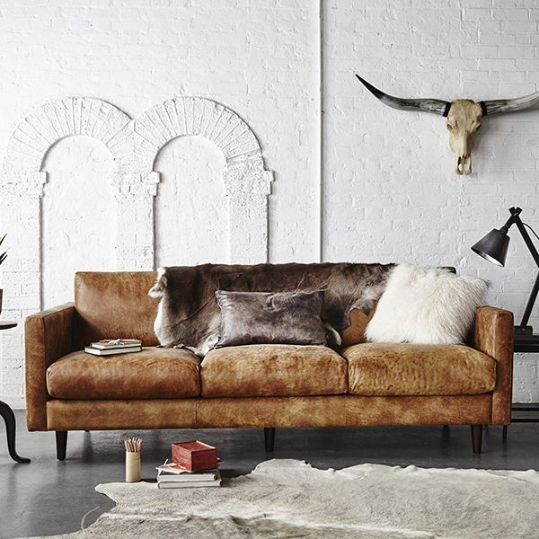 The Caruso Sofa Is Of A Clean And Simple Design, Upholstered In Rich Earthy  Outback
