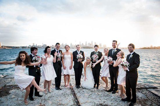 Kirrily And Liam S Fun Taronga Zoo Wedding