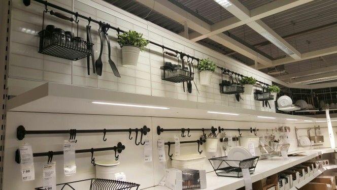 Küchenutensilien aufhängen und verschönern, IKEA