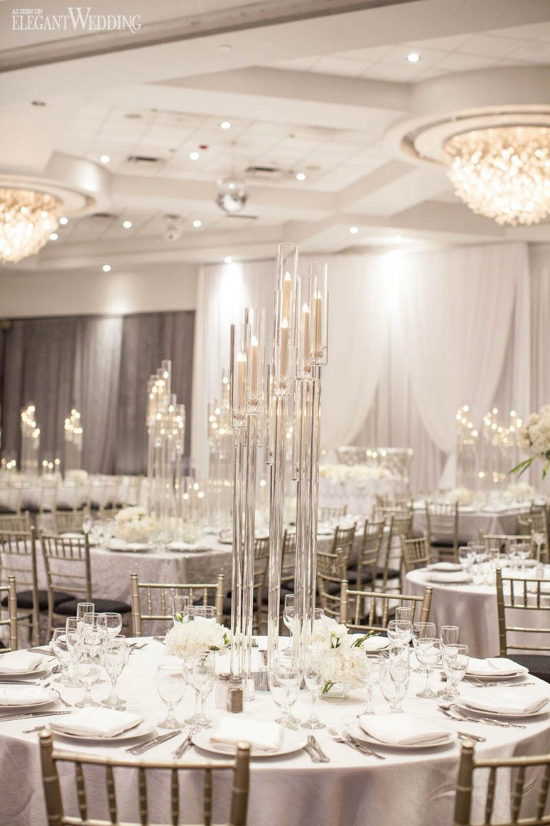 An Ultra-Modern White Wedding | ElegantWedding.ca