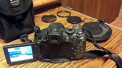Canon Powershot S5 Is 8 0 Mp Digital Camera Black With Bag And Lens Digital Camera Powershot Camera Bag