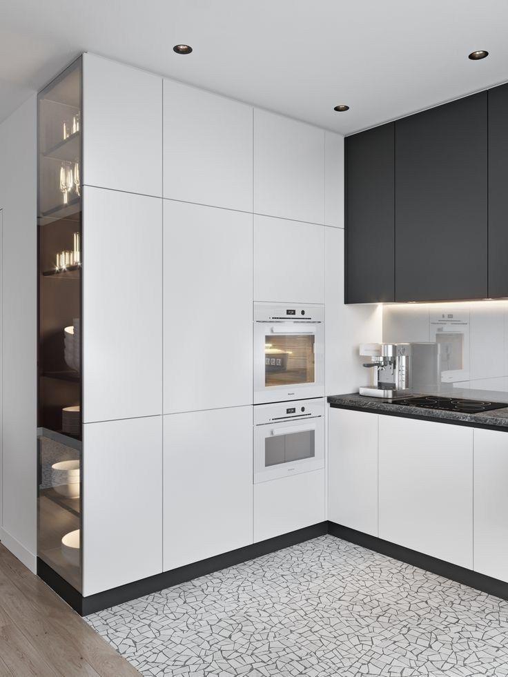 38 design moderno e atraente da cozinha que você deve ver hoje 10