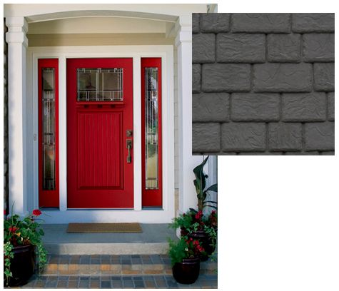 He Likes She Likes How To Resolve A Common Color Delimma Red Front Door Painted Front Doors Front Door Paint Colors