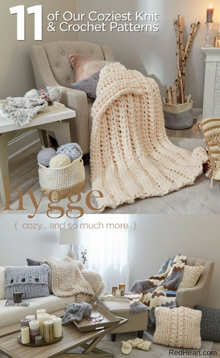 Cozy... and so much more - 11 projects to knit & crochet. | Knitting ...